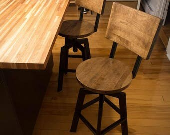 maple stools