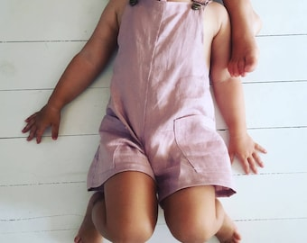 Twin Linen Overall