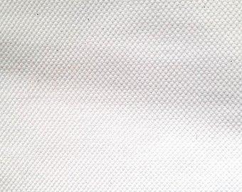 SUMMER17 White cotton piqué