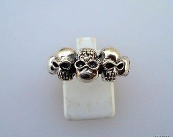 sterling silver ring khopdi ring handmade rajasthan india