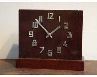Danish savings bank clock / vintage piggy bank