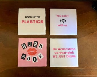 Mean Girls Coasters- Set of 4