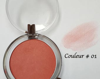 Natural blushes - many colors available