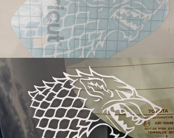 Game of Thrones Inspired House Stark Decal