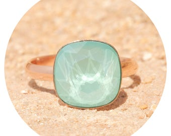 artjany ring mint green