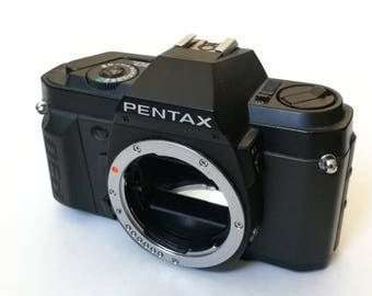 Pentax P30 with New Light Seals. Ready-To-Use Vintage 1980s SLR K-Mount Camera Body