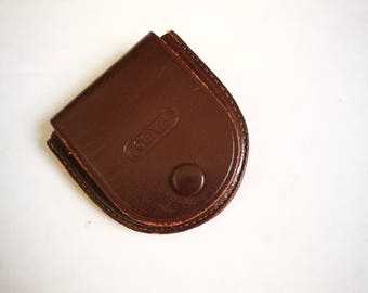 Vintage Leather Filter Pouch for TLR Camera Lens