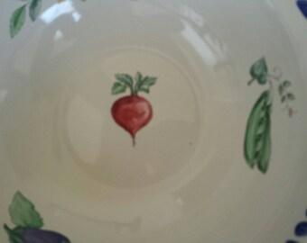 Set of Pfaltzgraff serving bowls.