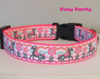 Pony Party Dog Collar