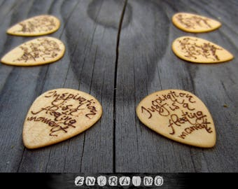 Custom guitar pick,Gift for husband to be,gift for him wood,gift for him fiance,gift for men wood,small gifts for men,small gifts boyfriend
