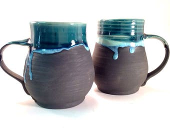 Pottery Mug, Ceramic Mug, handmade Cup,