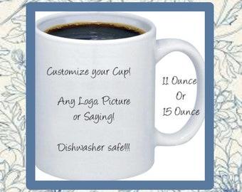 Personalized Coffee Mug  Design your mug  coffee mug  dishwasher safe coffee mug  Coffee cup  Customized Coffee Cup