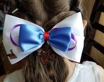 Aladdin Inspired Hair Bow