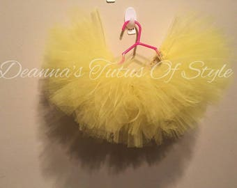 Yellow Tutu, Size 0-24 Month, Tutu, Baby Girl Tutu, Smash Cake Tutu, Big Bird Tutu, Photo Prop Tutu, Birthday Tutu