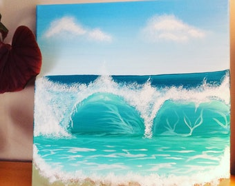 Wave Painting - The Wave Painting - Wave Art - Seascape Art - Paintings for Sale - Seascape Artists - Seascape Paintings - Seascape Wall Art