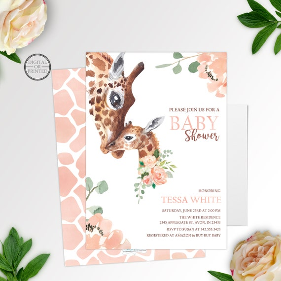 Safari baby shower invitation jungle baby shower invitation il570xn filmwisefo