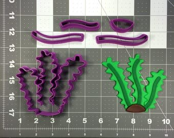 Seaweed 266-284 Cookie Cutter Set