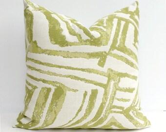Citron Green, Indoor/Outdoor Pillow Cover