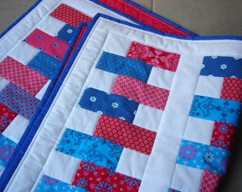 Adult/Baby/Toddler Cot quilt, Play Mat, Cuddly Quilt, Throw, Wall hanger, Lap Quilt, Baby, Toddler, Baby Blanket  *SHIPPING INCLUDED
