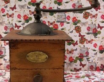 french vintage coffee grinder, Genuine Peugot Freres coffee grinder