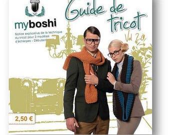 Guide to knitting Myboshi flight 2.0