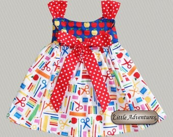 Back to School Dress (Baby, Toddler, Girl)