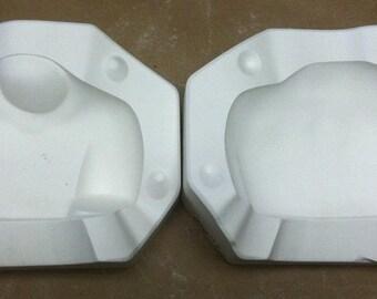"Vintage 20"" Joy Porcelain Doll Shoulder Plate Ceramic Mold Dawn Adams E5"