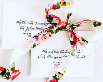 Envelope Calligraphy, Wedding Envelopes, Special Occasion Envelopes