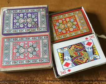 Beautiful Vintage Congress Playing Cards