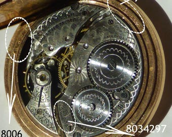 Antique Pocket Watch Gold Filed Case Open Face Waltham 12s Grade No 210 1896