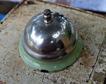 Vintage Ring for Service Bell, Counter Bell-Store Bell