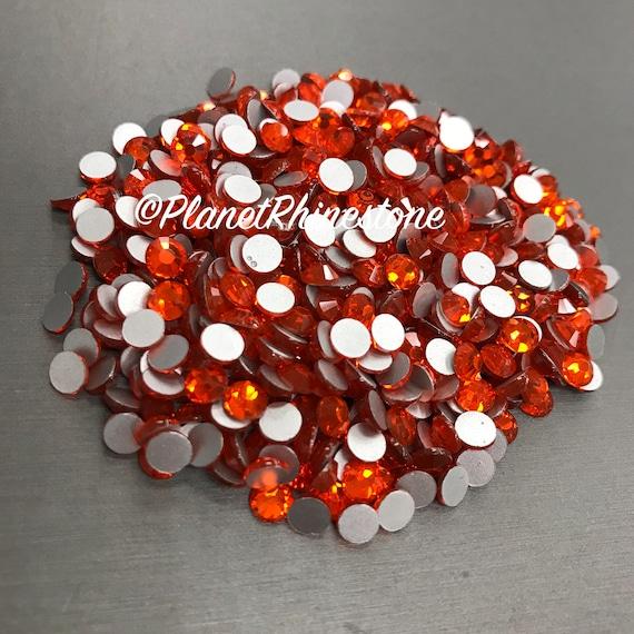 Hyacinth-Orange / 10 Gross / SS20 / Flat back / Egyptian Crystals
