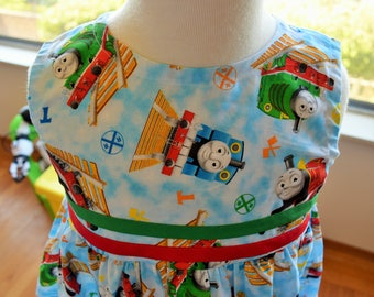 Thomas the Train dress (3T)