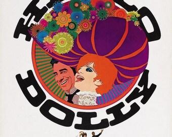 Summer Sale HELLO DOLLY Movie POSTER Barbara Streisand Broadway Musical