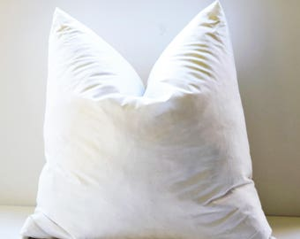 16 x 16 18 x 18 inch downfeather pillow inserts