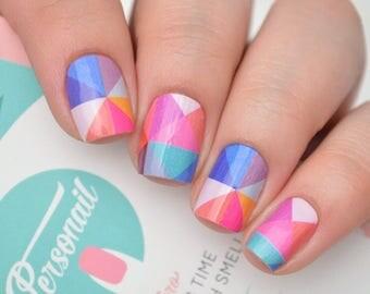 Prisma Colourful Nail Wraps