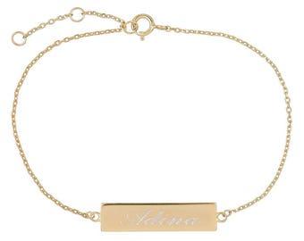 Bar Name Bracelet