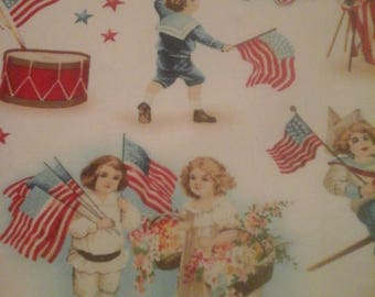 Americana Fabric Patriotic 1 Yard Cotton