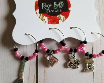 Cooking Wine Charm Set