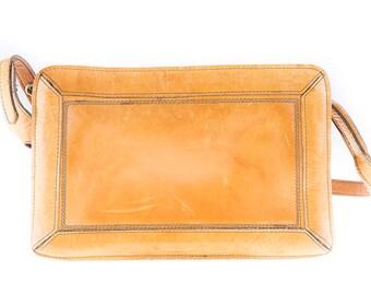 Cognac Brown North Oy 80's Shoulder Bag