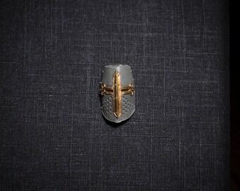 Crusader Helmet Magnet