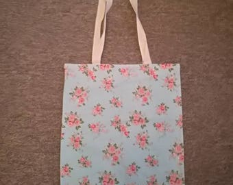Cute Floral Chic Tote Shopping Bag