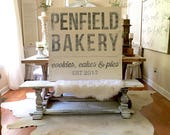 40x40 Bakery Wood Sign - ...