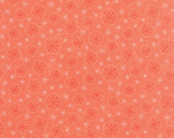 Moda SWEETNESS Quilt Fabric 1/2 Yard By Sandy Gervais - Rosey Red 17856 14