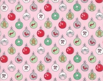 Moda SUGAR PLUM Quilt Fabric 1/2 Yard By Bunny Hill Designs - Pink 2910 14