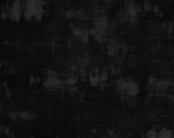 "Quilt Backing Fabric- Grunge-Black Onyx-Moda- 108"" wide"