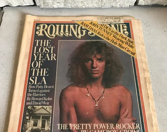 Peter Frampton Rolling Stone Magazine April 22 1976 Patty Hearst