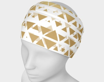 Gold Triangles Headband