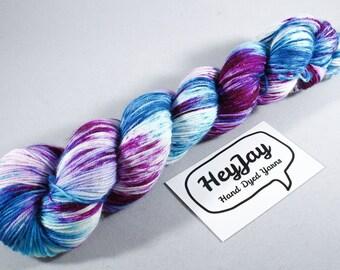 Hand Dyed Sock Yarn Superwash Merino - Lorelei