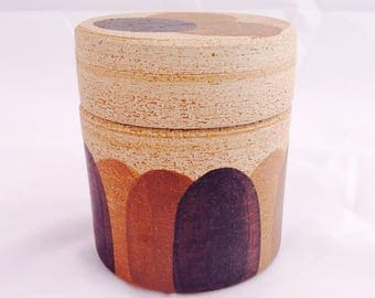 Vintage Sgrafo bowl, Peter Muller, 60s 70s pottery, mid century bowl, Art pottery, Vintage studio bowl, Home Décor, German Sgrafo bowl